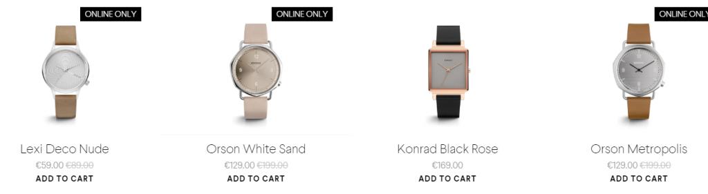 komono's charm pricing
