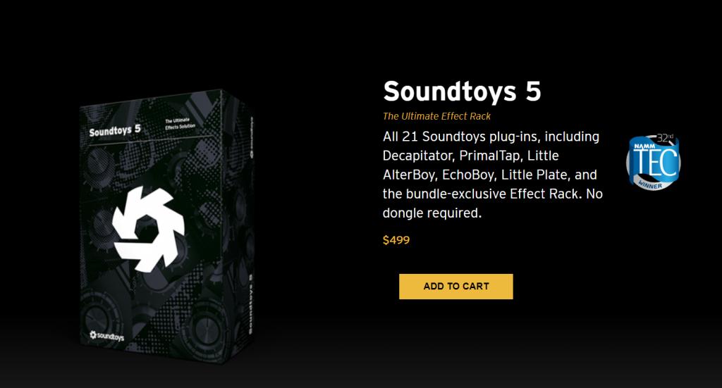 Soundtoys's bundle