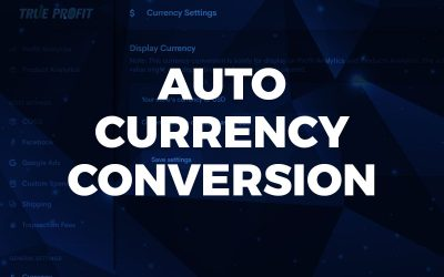 Auto currency conversion for multi-currency accounts