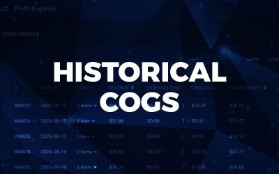 Historical COGS: Add multiple product costs to one product