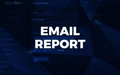Report via emails is available now