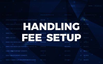 Handling Fees, for a more accurate Total Cost.