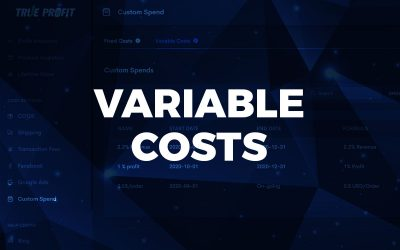 December 2020 Release: Variable Costs – vital expenses to track